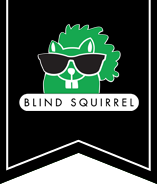 Blind Squirrel Menu Logo